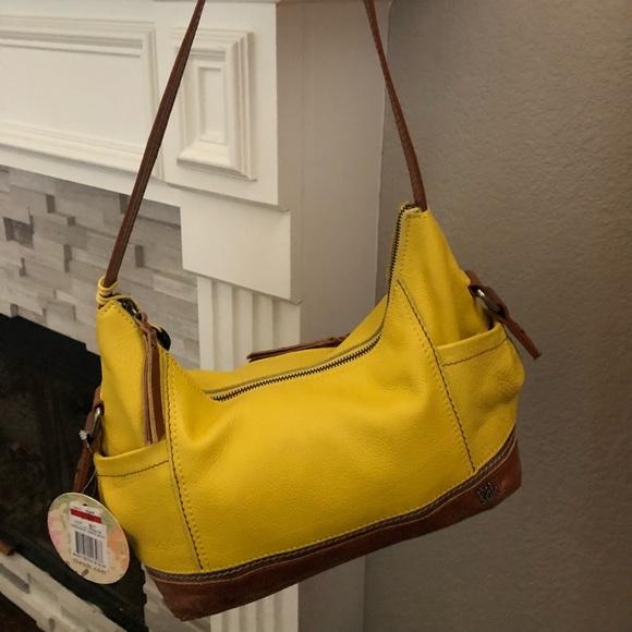 Yellow Leather Hobo Bag  HB52 – Advancedmassagebysara f99d9ce044025